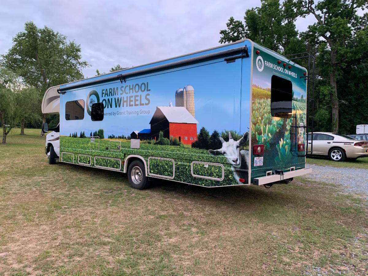 Farm School on Wheels Launches Mobile Farm Training Vehicle
